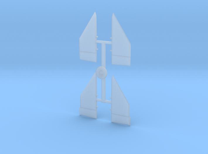 02-Ailerons 3d printed