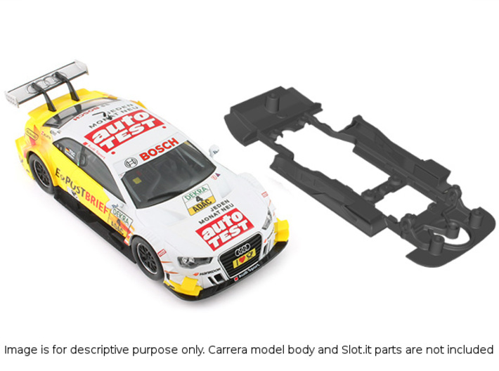 S01-ST4 Chassis for Carrera Audi A5 DTM SSD/STD 3d printed