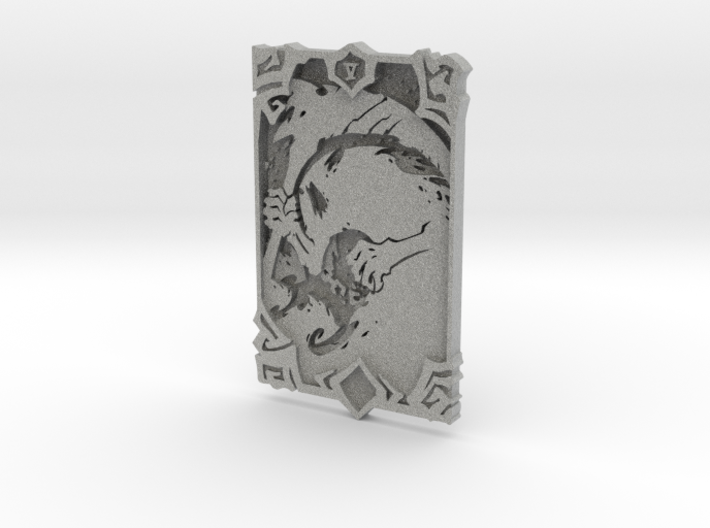 Darksiders Tarot Card - V - Death 3d printed