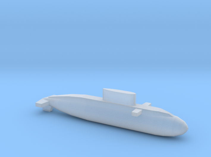 Kilo-Class, Full Hull, 1/1800 3d printed