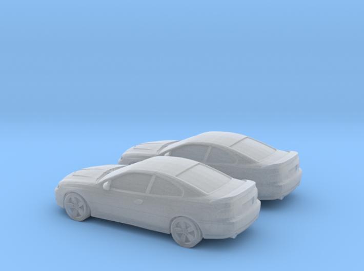 1/200 2X 2006 Pontiac GT 3d printed