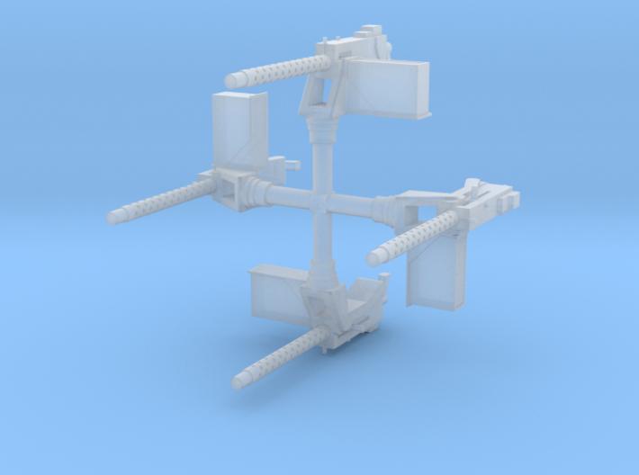 EQ18 M1919A4 on M25 Pedestal Mount (1/48) 3d printed