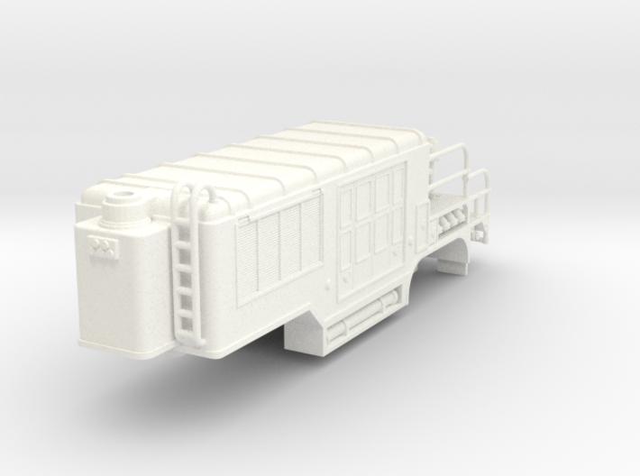 1/87 super pumper trailer 3d printed