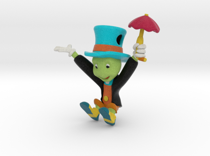 Jiminy Cricket 3d printed