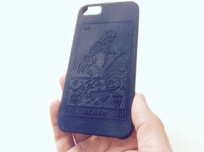 Customizable iphone 6 Blank Case 3d printed
