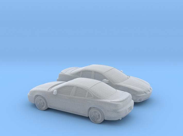 1/160 2X 1997 Pontiac Grand Prix Sedan 3d printed