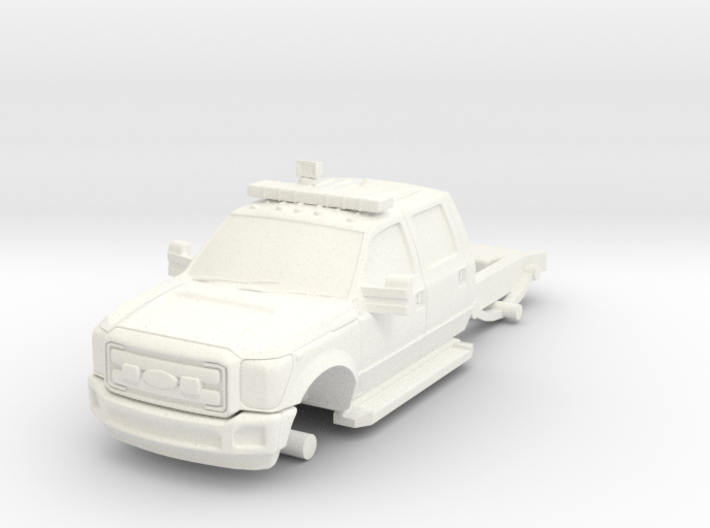 1/64 F-550 Chasis for FDNY ATVR and Generic Light 3d printed
