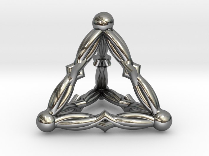 VELVET DREAMS (3D pendant) 3d printed
