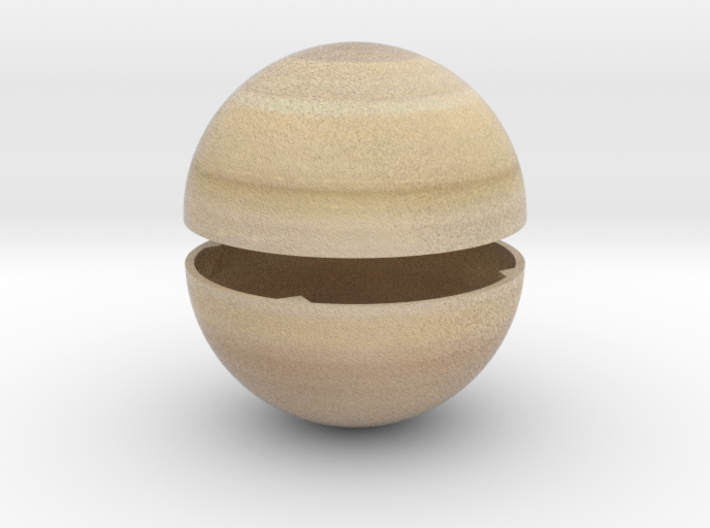 Saturn - separate planet for scale solar system 3d printed