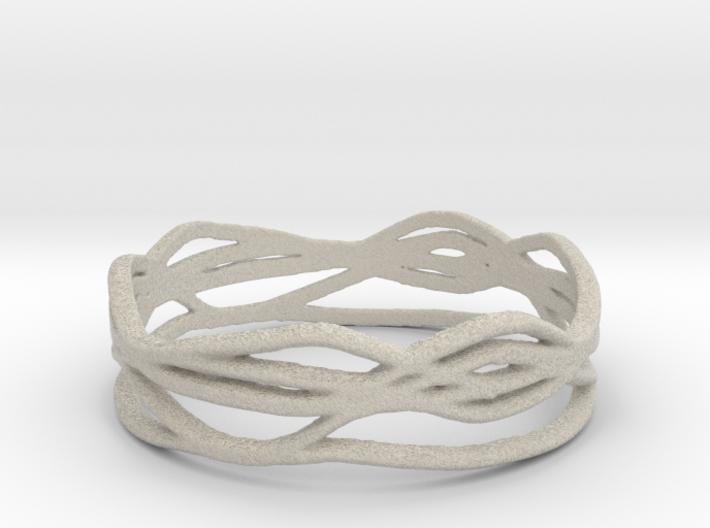 Ring Design 01 Ring Size 9 3d printed