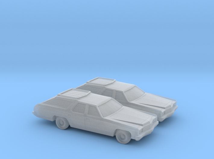1/160 2X 1973 Chevrolet Caprice Classic Station Wa 3d printed