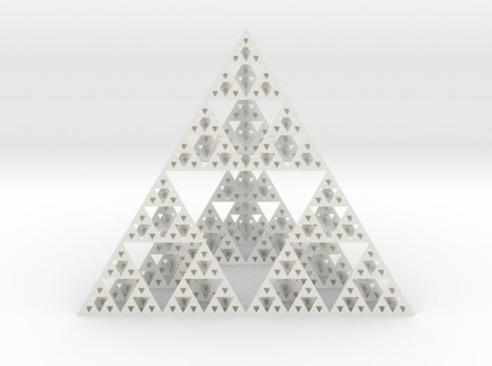 Sierpinski tedrahedron : Cm:10 x / 12 y / 10 z 3d printed