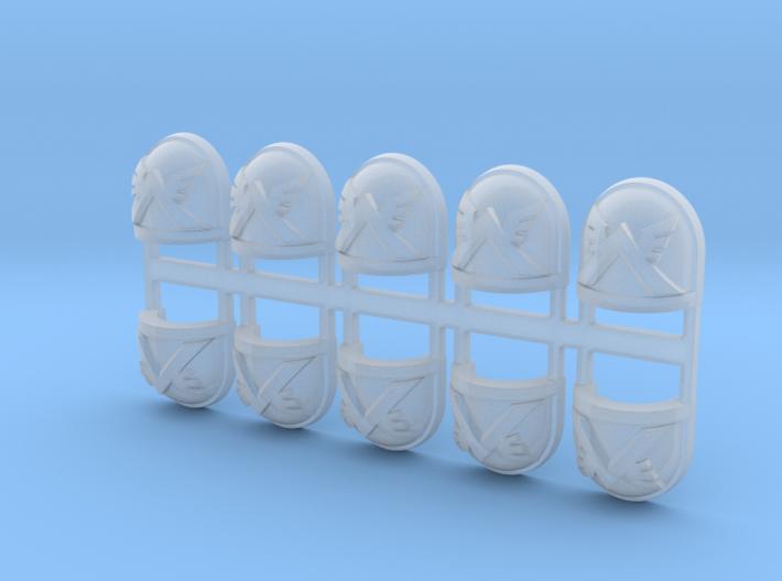 10x Air Devastator - G:7a Shoulder Pad 3d printed