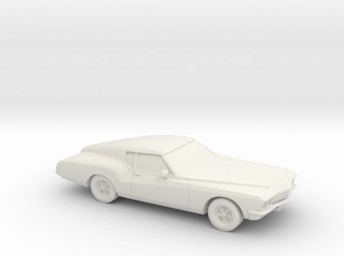 1/87 1971 Buick Riviera 3d printed