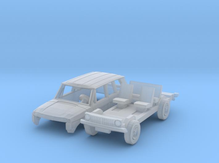 Range Rover (N 1:160) 3d printed
