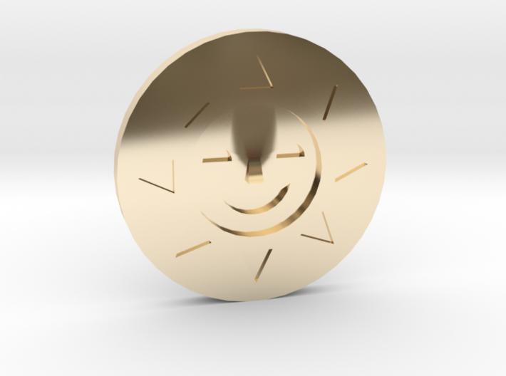 Golden Sun Coin Ducktales 3d printed