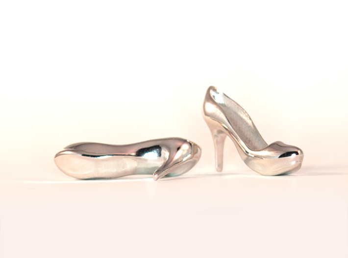 Modern Heels - Style 2 size 2 3d printed