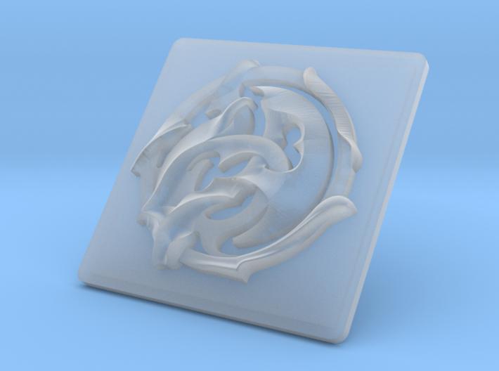 DeeCee Hawian Bumper Emblem 3d printed
