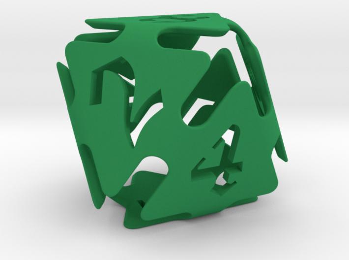 Big die 8 / d8 26 mm / dice set 3d printed