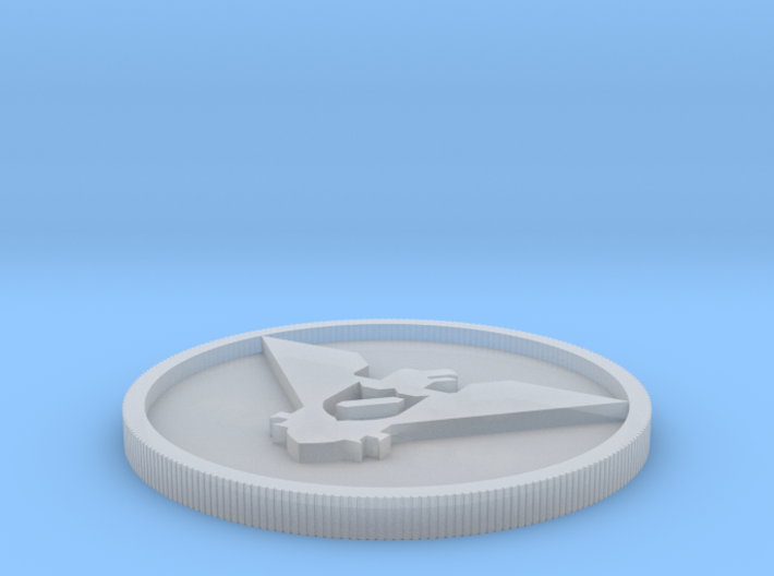 Arastoska coin 3d printed