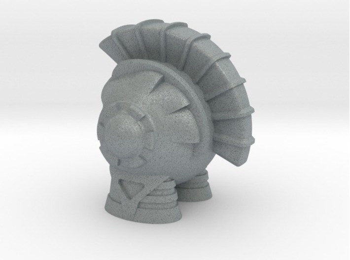 Marvin the Spartan Martian 3d printed