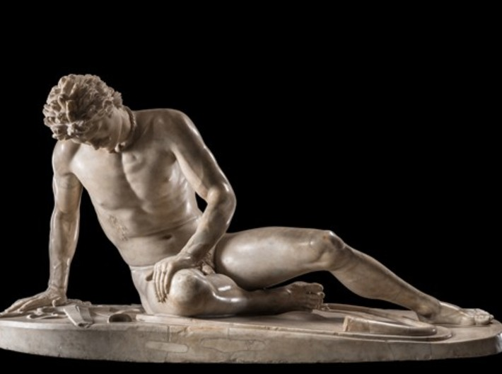 The Dying Galatian At The Capitoline Museums, Rome 3d printed