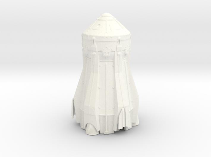 1/144 NASA / JPL ARES MARS ASCENT VEHICLE (MAV) 3d printed