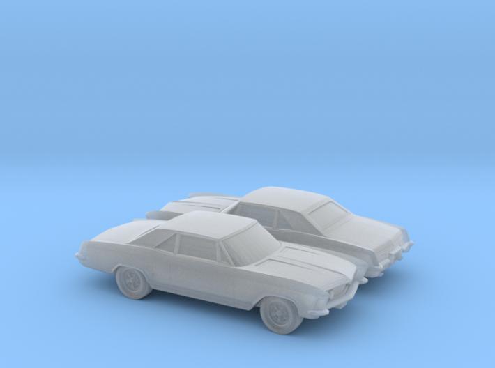 1/160 2X 1963 Buick Riviera 3d printed