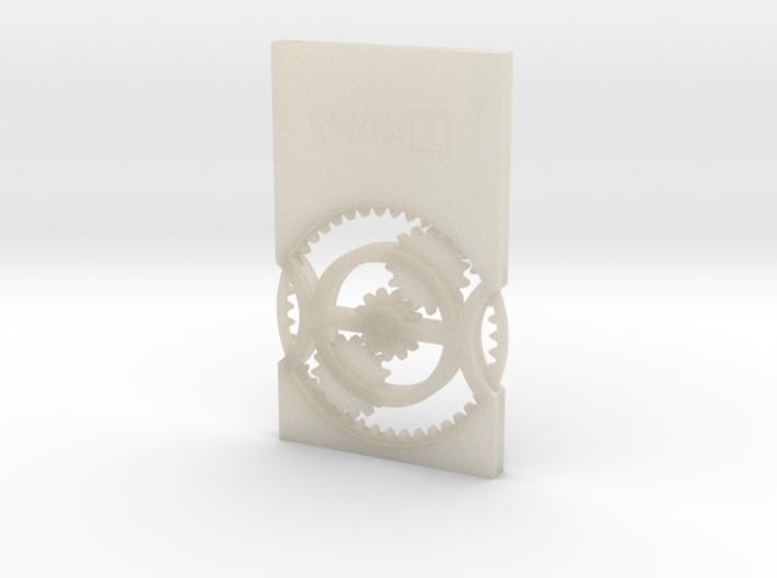 BU-Card 3d printed