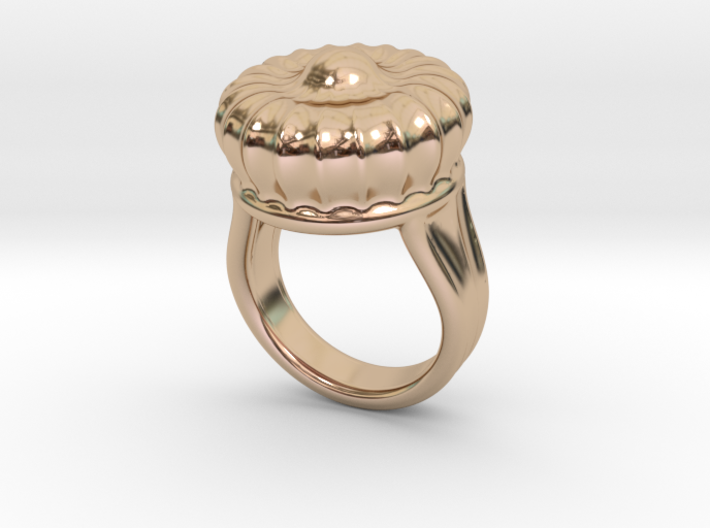 Old Ring 14 - Italian Size 14 3d printed