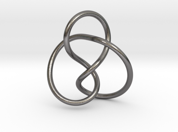 0354 Hyperbolic Knot K2.1 3d printed