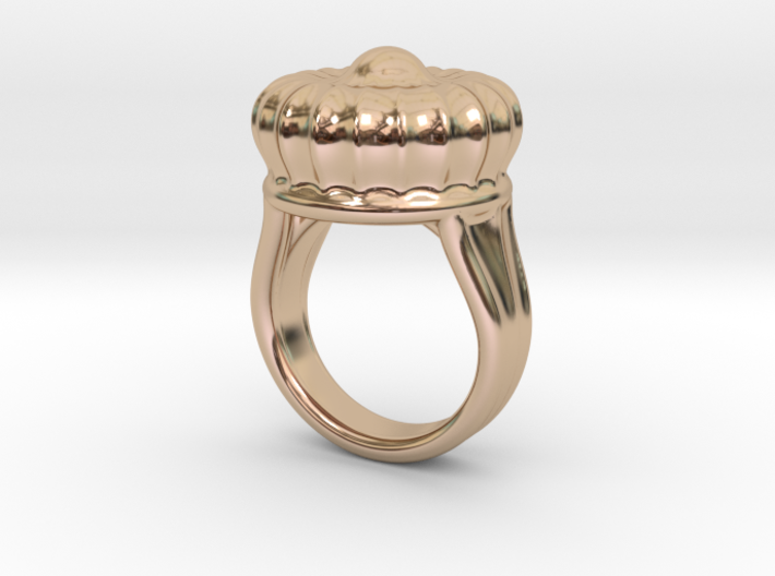 Old Ring 21 - Italian Size 21 3d printed