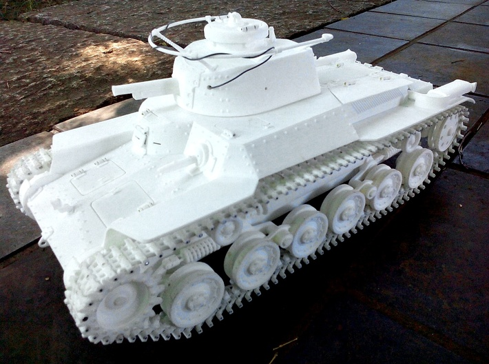 """1:16scale  TYPE97 TANK """"Chi-Ha"""" Hull only Ver1.0  3d printed"""