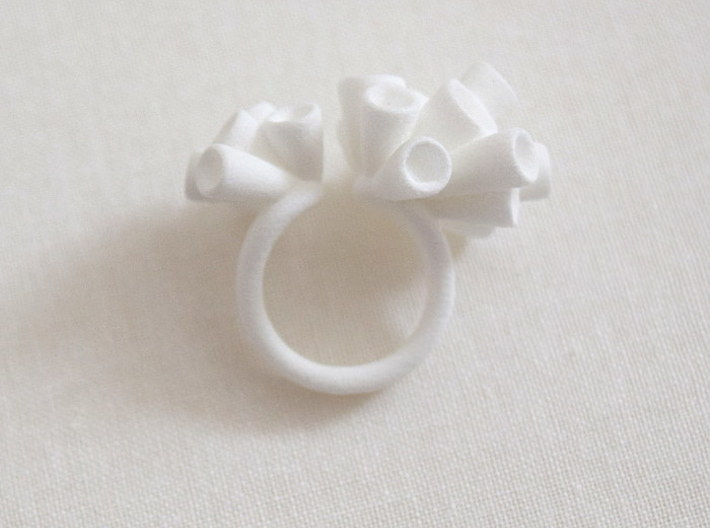Reef ring (US size 5.5) 3d printed