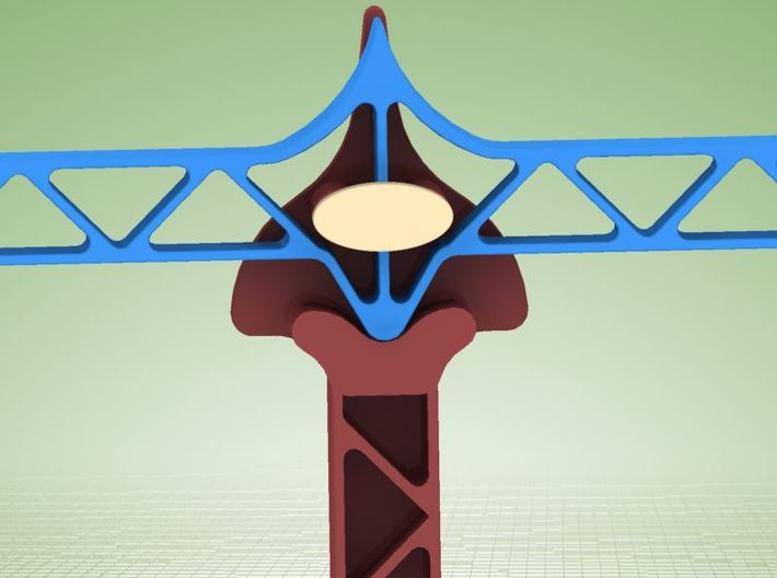 Toy weigher (SET 1 : ONLY WEIGHER PARTS) 3d printed