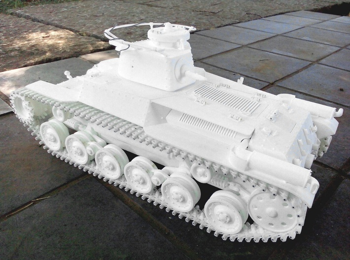 1:16scale TYPE97 TANK  Caterpillarx50pcs V2.0 3d printed