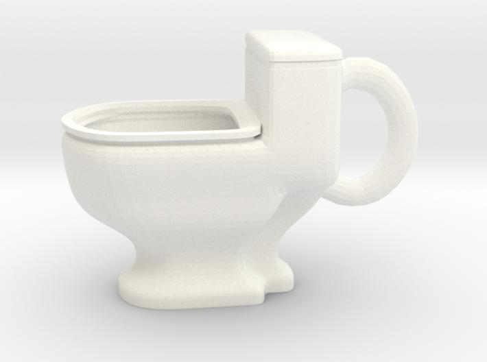 Toilet Mug 3d printed