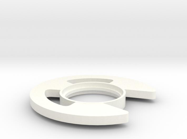 Retaining Clip Tsuba 3d printed
