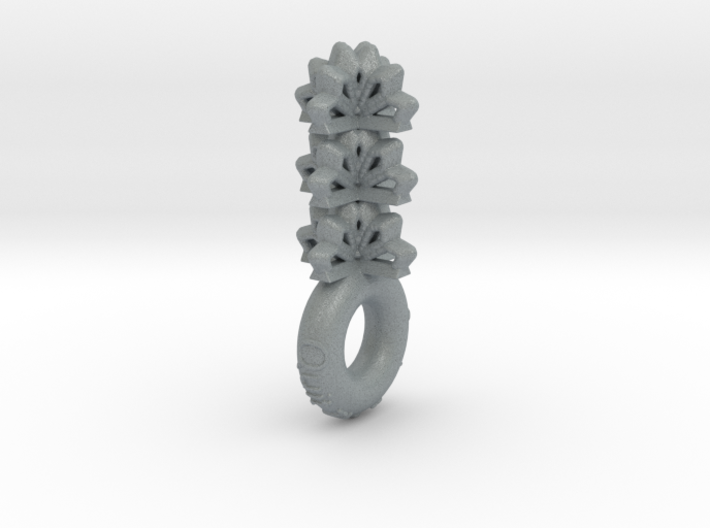 """Quit The Typical & Feel Empowered"" Pendant 3d printed"