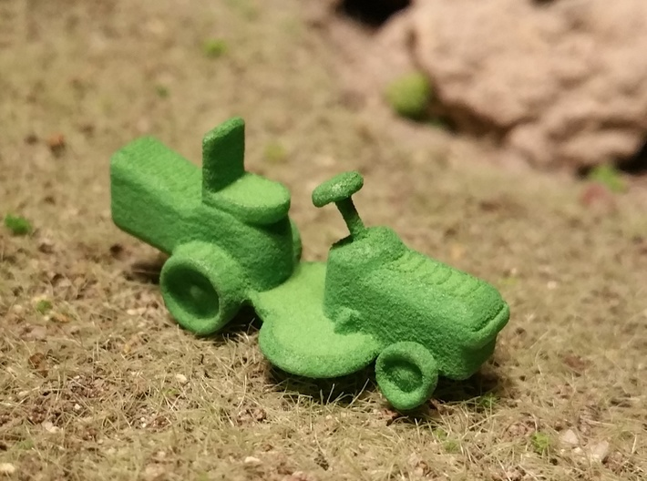 Riding Lawn Mower 1-87 HO Scale 3d printed