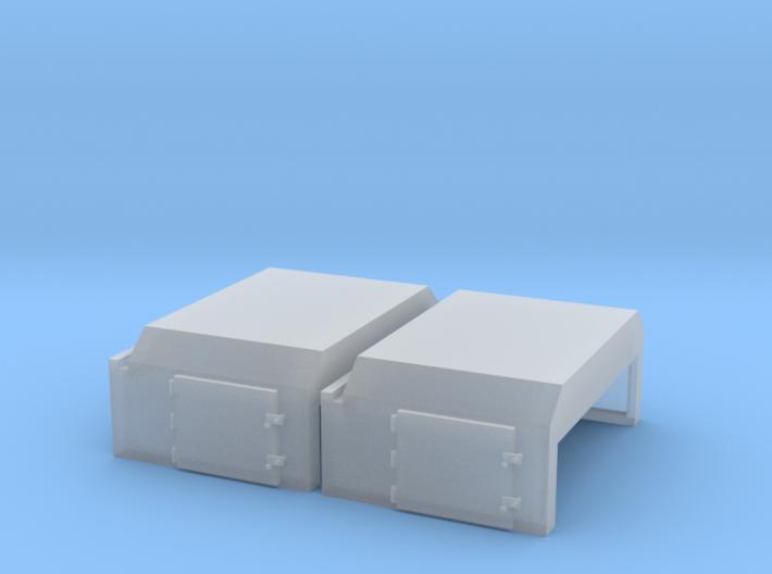 EMD Angled Air Filter Hatch (N - 1:160) 2X 3d printed