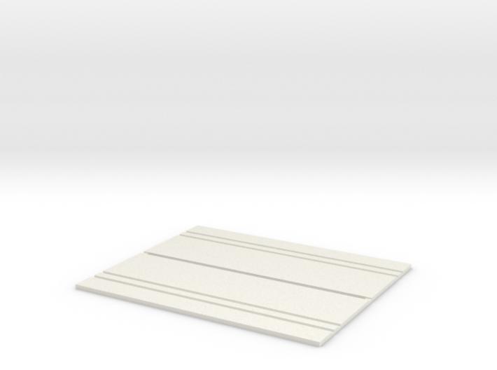 Concrete Security Fences (2) 3d printed