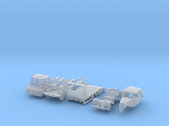 SET Oldtimer Transport (TT 1:120) 3d printed