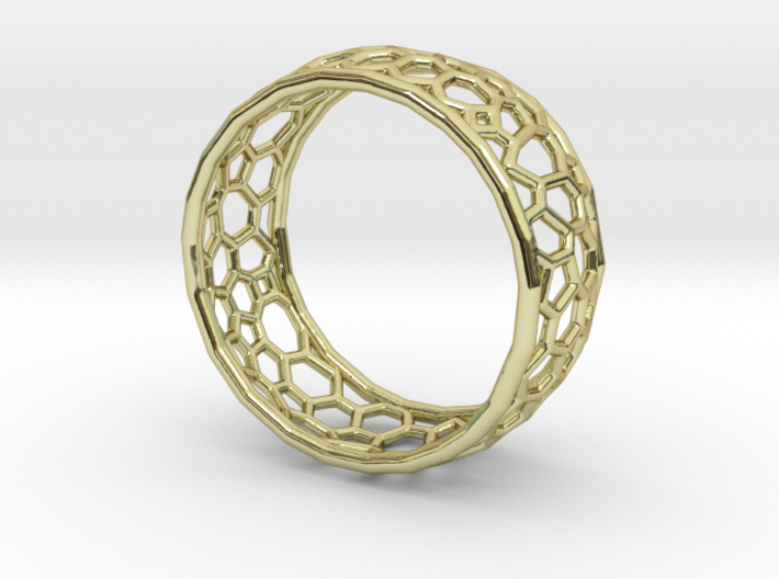 Cellular structure ring 3d printed