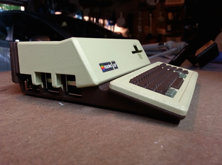 Apple III Raspberry Pi Case 3d printed