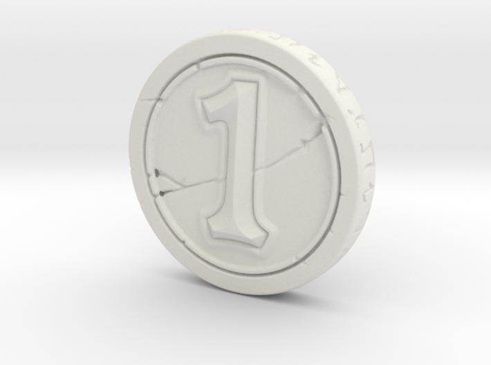 Hearthstone Coin 3d printed