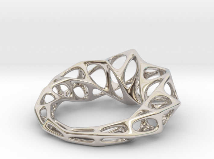 [Flowing ring]Size8 18.1mm 3d printed