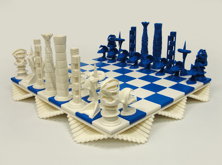 Chess Set Base (PART 1) 3d printed 3D Printed Prototype