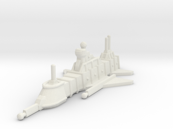 ZD202 Dûn Morgûn Electronics Warfare Cruiser 3d printed