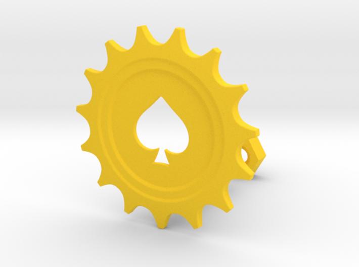 Spade Gear 3d printed
